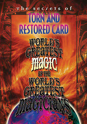 World's Greatest Torn and Restored Card
