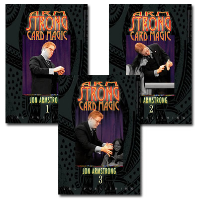 Armstrong Card Magic - Jon Armstrong - Vols. 1 - 3