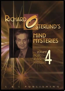 Mind Mysteries Vol. 4 (More Assort. Myst.) by Richard Osterlind