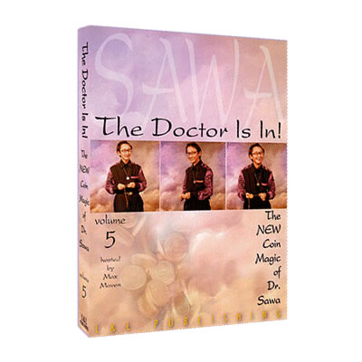 The Doctor Is In - The New Coin Magic of Dr. Sawa Vol 5 video - Click Image to Close