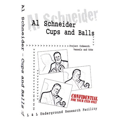 Al Schneider Cups & Balls by L&L Publishing video