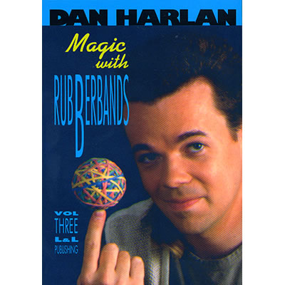 Magic with Rubber Bands by Dan Harlan - Volume 3 video