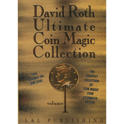 David Roth Ultimate Coin Magic Collection Vol 1 video - Click Image to Close