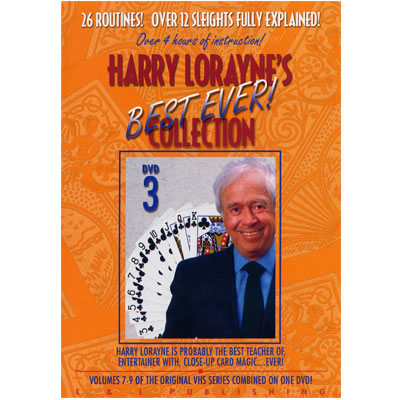 Harry Lorayne's Best Ever Collection Volume 3 video