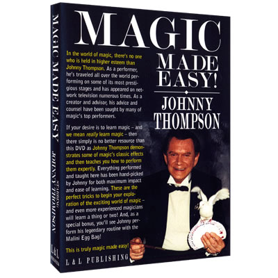 Johnny Thompson's Magic Made Easy by L&L Publishing video