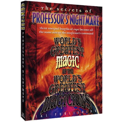 Professor's Nightmare (World's Greatest Magic) By L&L Publishing
