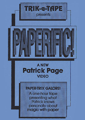 Paperific - Patrick Page - Click Image to Close